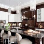 Дизайн кухни в стиле арт-деко - фото (11)