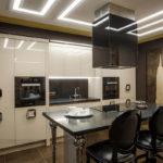 Дизайн кухни в стиле арт-деко - фото (12)