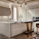 Дизайн кухни в стиле арт-деко - фото (16)
