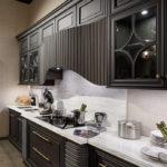 Дизайн кухни в стиле арт-деко - фото (2)