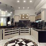 Дизайн кухни в стиле арт-деко - фото (24)