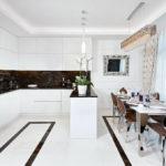 Дизайн кухни в стиле арт-деко - фото (27)
