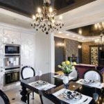 Дизайн кухни в стиле арт-деко - фото (28)