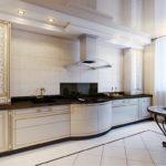 Дизайн кухни в стиле арт-деко - фото (7)