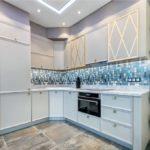 Дизайн кухни в стиле арт-деко - фото (8)