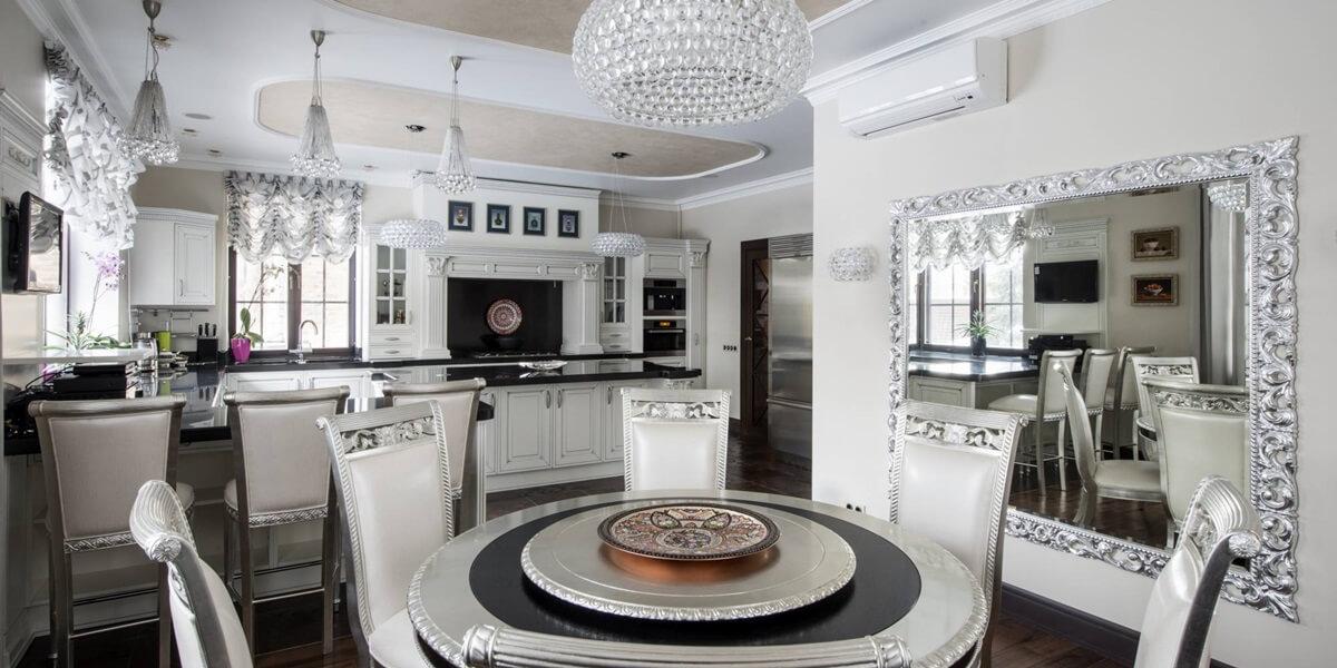 Кухня в стиле арт-деко - фото