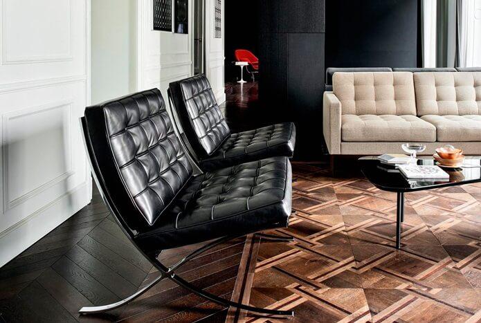 14 примеров культовой мебели - Кресло Барселона