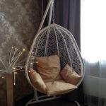 Кресло-кокон в интерьере фото (8)