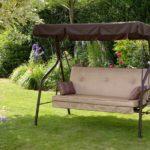 Металлические садовые качели (3)
