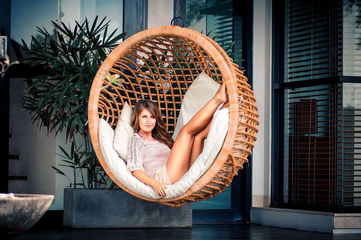 Отдых в кресле-коконе